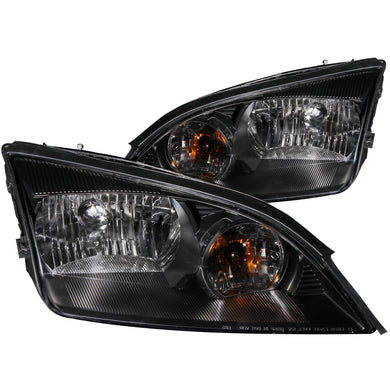 Anzo Crystal Headlights Ford Focus ZX3/ZX4/ZX5 (2005-2007) Black