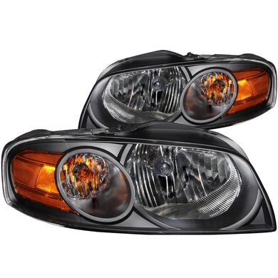 Anzo Crystal Headlights Nissan Sentra (04-06) [Black Housing] 121235