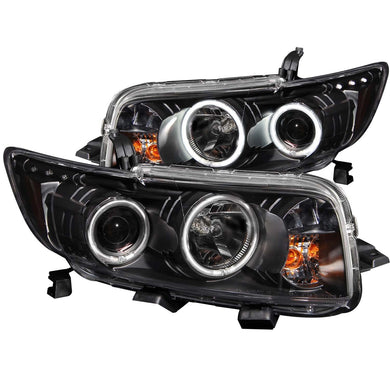 Anzo Projector Headlights Scion xB (08-10) [w/ CCFL Halo - Black Housing] 121280