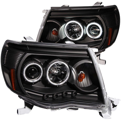 Anzo Projector Headlights Toyota Tacoma [CCFL Halo] (05-11) Black or Chrome