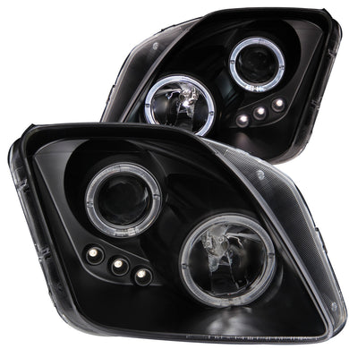 Anzo Projector Headlights Honda Prelude (97-01) [w/ CCFL Halo] Black or Chrome Housing