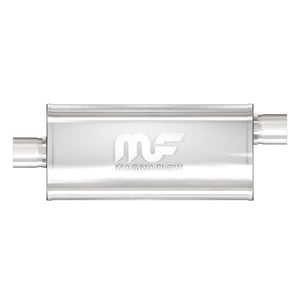 "Magnaflow Muffler (2"" - 5"" x 8"" Oval - 18"" Body - 24"" Overall - Center / Offset) 12254"