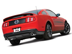 Borla Catback Exhaust Ford Mustang GT/ Shelby Mustang GT500 [S-Type] (11-12) Silver or Black Chrome