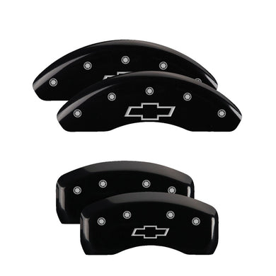 MGP Brake Caliper Covers Chevy Impala / Malibu Limited (13-19) Black / Red / Yellow