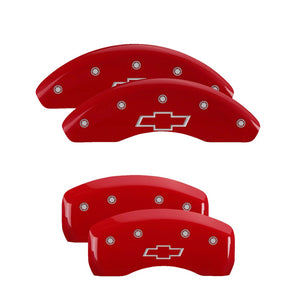 MGP Brake Caliper Covers Chevy Trax (2015-2017) Black / Red / Yellow