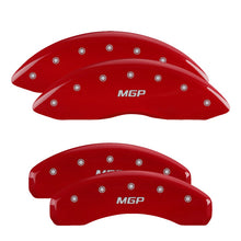 Load image into Gallery viewer, MGP Brake Caliper Covers Chevy Silverado 1500 (2019) Black / Red / Yellow