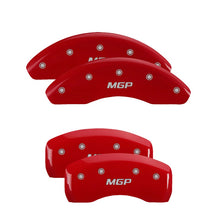 Load image into Gallery viewer, MGP Brake Caliper Covers Audi S4 / A4 / A4 Quattro (2002-2008) Black / Red / Yellow