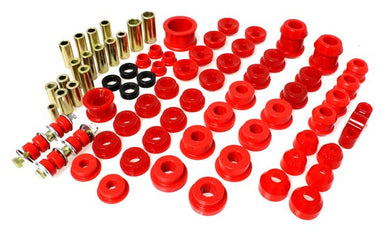 Energy Suspension Hyper-Flex Master Bushing Set Honda Del Sol (93-97) Red or Black