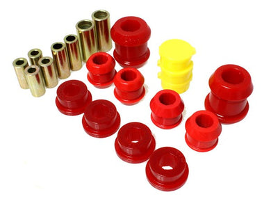 Energy Suspension Front Control Arm Bushings Honda Del Sol (93-97) Red or Black