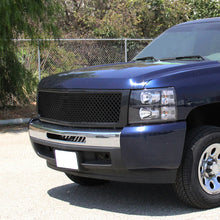 Load image into Gallery viewer, Spec-D Grill Chevy Silverado (2007-2013) Mesh Gloss Black