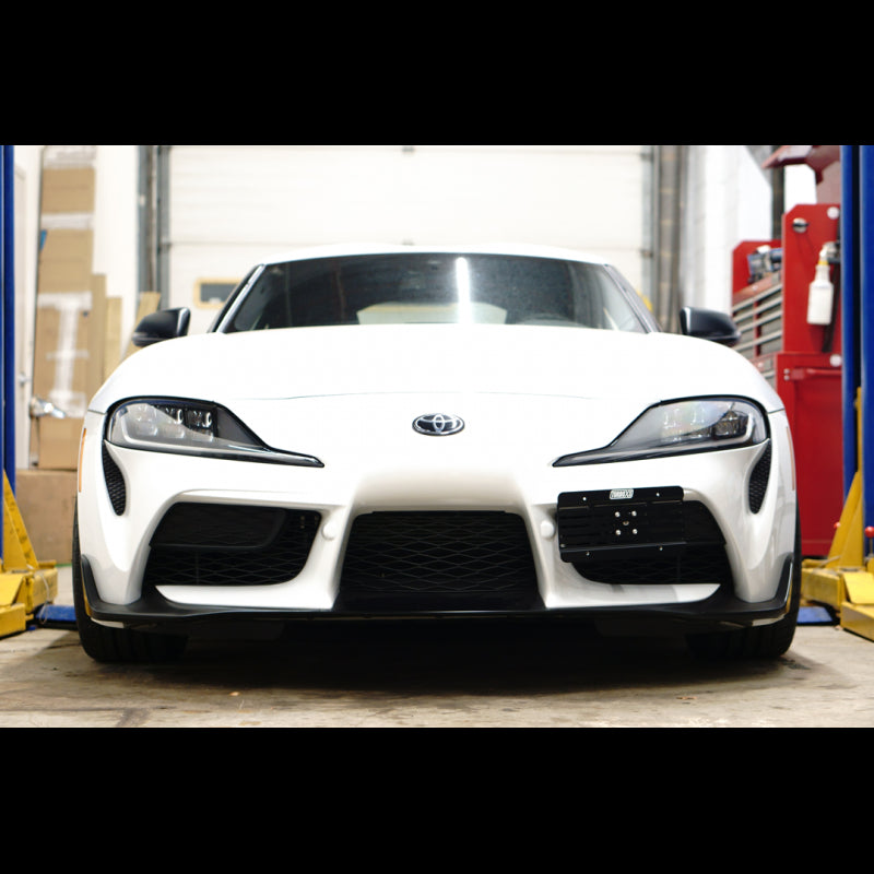 TurboXS License Plate Relocation Kit Toyota Supra MK5 A90 ...