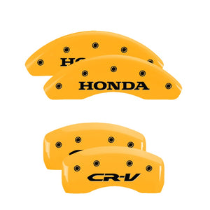 MGP Brake Caliper Covers Honda CRV / Crosstour (2012-2016) Red / Yellow / Black