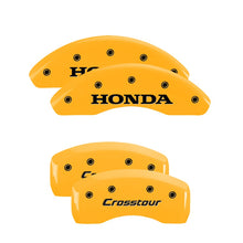 Load image into Gallery viewer, MGP Brake Caliper Covers Honda CRV / Crosstour (2012-2016) Red / Yellow / Black