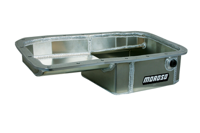 Moroso Oil Pan Honda B Series B16/B18/B20 (Drag Race - Baffled) 20901