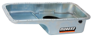 Moroso Oil Pan Honda B Series B16/B18/B20 (Stock Depth - Drawbacks) 20911