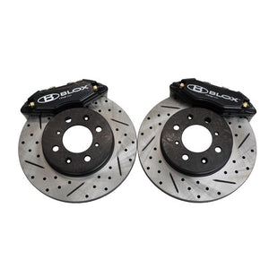 BLOX Racing Big Brake Kit Acura Integra [Front - Drilled/Slotted] (90-01) BXBS-10501