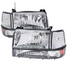 Load image into Gallery viewer, Spec-D OEM Replacement Headlights Ford F150 (1992-1996) w/ Bumper & Corner Lights