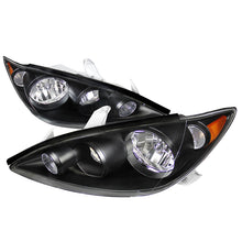 Load image into Gallery viewer, Spec-D OEM Replacement Headlights Toyota Camry (05-06) Black / Chrome
