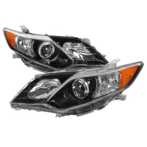 Spec-D Projector Headlights Toyota Camry (2012-2014) Black or Chrome