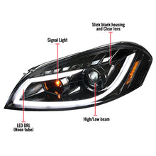 Load image into Gallery viewer, Spec-D Projector Headlights Chevy Impala (06-15) Monte Carlo (06-07) Black Housing