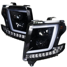 Load image into Gallery viewer, Spec-D Projector Headlights Chevy Suburban/Tahoe [LED DRL] (2015-2020) Black or Chrome