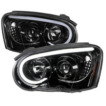 Load image into Gallery viewer, Spec-D Projector Headlights Subaru WRX [LED Bar] (2004-2005) Black / Tinted / Chrome
