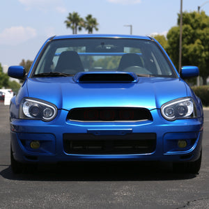 Spec-D Projector Headlights Subaru WRX [LED Bar] (2004-2005) Black / Tinted / Chrome