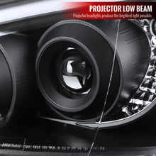 Load image into Gallery viewer, Spec-D Projector Headlights Subaru WRX/STi (2004-2005) w/ LED Bar - Black or Chrome