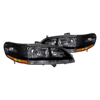 Spec-D OEM Replacement Headlights Honda Accord [Euro] (98-92) Black or Chrome