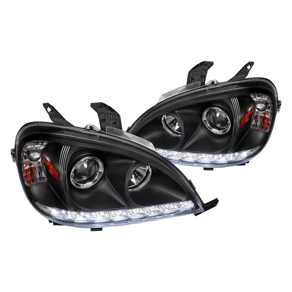 Spec-D Projector Headlights Mercedes ML320 / ML430 [LED DRL] (98-01) Black or Chrome