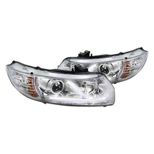 Load image into Gallery viewer, Spec-D Projector Headlights Honda Civic Coupe [DRL LED] (06-11) Black or Chrome