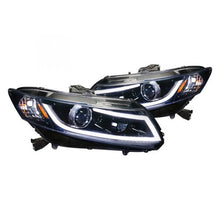 Load image into Gallery viewer, Spec-D Projector Headlights Honda Civic Coupe (12-13) Sedan (12-15) LED Black or Chrome