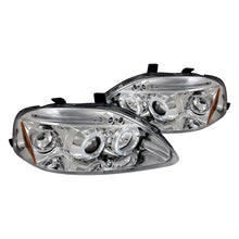 Load image into Gallery viewer, Spec-D Projector Headlights Honda Civic EK [Dual LED Halo] (99-00) Black or Chrome