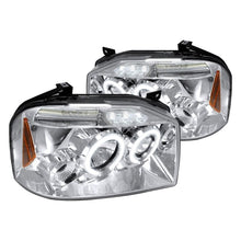 Load image into Gallery viewer, Spec-D Projector Headlights Nissan Frontier [Halo LED] (2001-2004) Black or Chrome