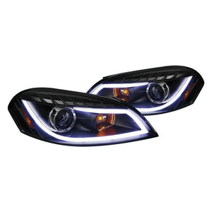 Spec-D Projector Headlights Chevy Impala (06-15) Monte Carlo (06-07) Black Housing