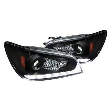 Spec-D Projector Headlights Lexus IS300 [DRL LED] (2001-2005) Black or Chrome