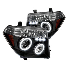 Load image into Gallery viewer, Spec-D Projector Headlights Nissan Frontier (05-08) Pathfinder (05-07) [Dual Halo] Black or Chrome