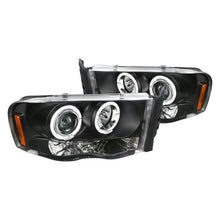 Load image into Gallery viewer, Spec-D Projector Headlights Ram 1500 (02-05) Ram 2500/3500 (03-05) [Halo LED] Black / Chrome / Smoked