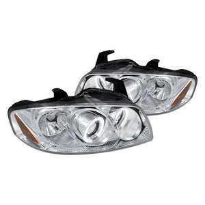 Spec-D Projector Headlights Nissan Sentra [Dual Halo] (04-06) Black or Chrome
