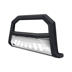 Armordillo Bull Bar GMC Yukon/Yukon XL 2500 [AR w/ Skid Plate] (00-06) Matte Black w/ or w/o LED