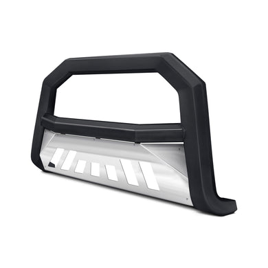 Armordillo Bull Bar Dodge Durango [AR w/ Skid Plate] (04-10) Matte Black w/ or w/o LED