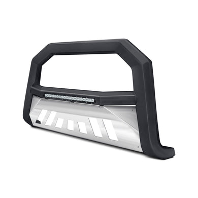 Armordillo Bull Bar GMC Yukon/Yukon XL [AR w/ Skid Plate] (07-20) Matte Black w/ LED