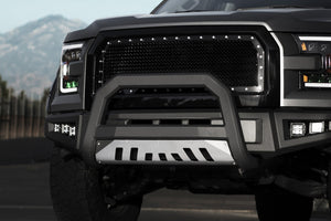 Armordillo Bull Bar Dodge Ram 1500 [AR w/ Skid Plate] (09-18) Matte Black w/ or w/o LED