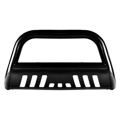 Armordillo Bull Bar Guard Jeep Commander [Classic w/ Skid Plate] (06-10) Black/Matte Black/Polished