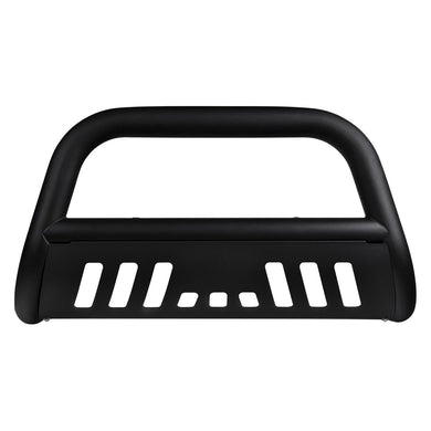 Armordillo Bull Bar Guard Nissan Pathfinder [Classic w/ Skid Plate] (08-12) Black/Matte Black/Polished
