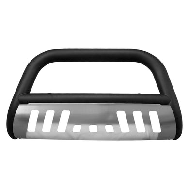 Armordillo Bull Bar Guard Dodge Durango [Classic w/ Skid Plate] (97-03) Black/Matte Black/Polished