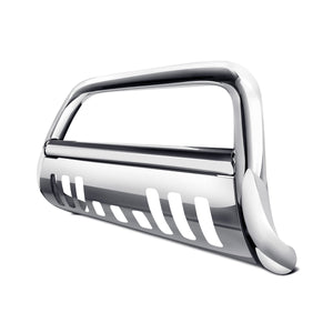 Armordillo Bull Bar Guard GMC Yukon/Yukon XL [Classic w/ Skid Plate] (07-17) Black/Matte Black/Polished