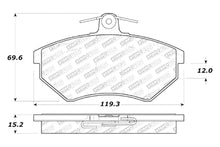 Load image into Gallery viewer, StopTech Street Select Brake Pads VW Golf (95-02) Jetta (91-98) [Front w/ Hardware] 305.06960