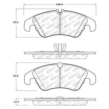 Load image into Gallery viewer, StopTech Street Select Brake Pads Audi	A4/A4 Quattro (09-16) [Front w/ Hardware] 305.13220