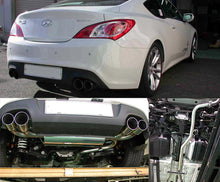 Load image into Gallery viewer, HKS Legamax Exhaust Hyundai Genesis 2.0T (2010-2016) 31021-KB001
